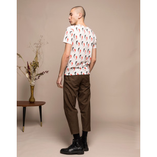 Olow Tee Fish Ecru|Off White