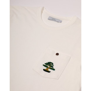 Olow Tee Bonsai Ecru|Off White