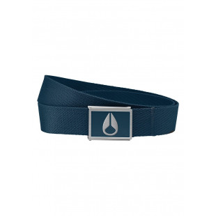 Nixon Enamel Wings Belt|Navy