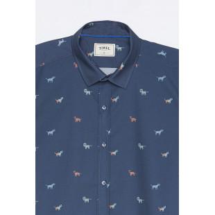 Tiwel Camisa Faune| Dark Blue