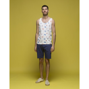 Olow Reef Tank Top | Off White