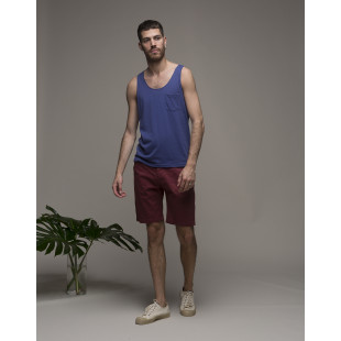 Olow Line Up Tank Top | Blue