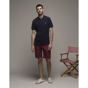 Olow Parrot Polo Shirt | Navy
