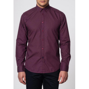 Merc Siegel Shirt | Wine