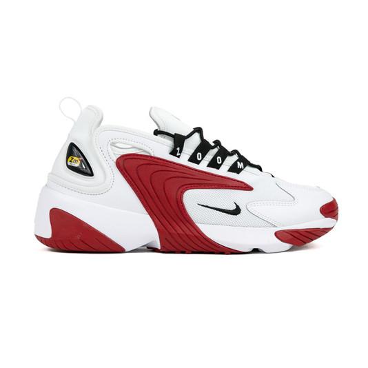 Nike Zoom 2k|White/Black-Gym Red White