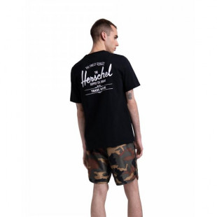 Herschel Tee Clasic Logo|Black
