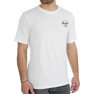 Herschel Tee Clasic Logo|White