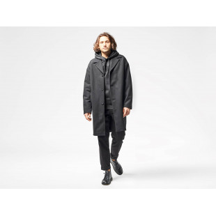Wemoto Seth Over Coat | Black