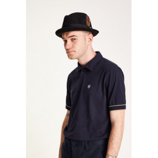 Brixton Gain Fedora Hat|Black