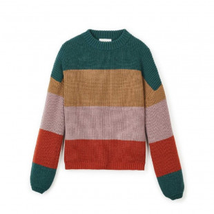 Brixton Madero Sweater|Emerald