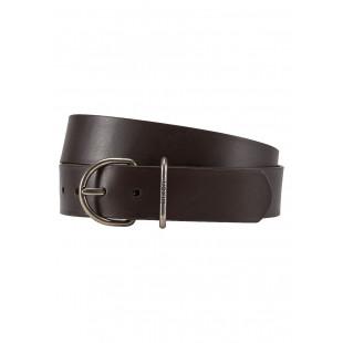 Nixon Steele Belt|Dark Brown