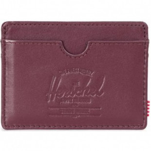 Herschel Charlie Leather|Wine