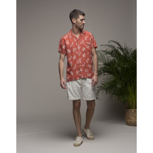 Olow Coral Shirt | Red