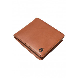 Nixon Pass Leather Coin|Saddle