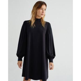Thinking Mu Flora Dress|Black