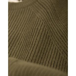 Olow Tabar Knitwear|Olive