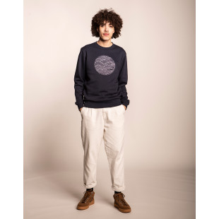 Olow Houle Sweater | Navy