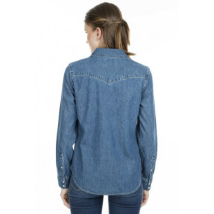 Levi's W Jean Shirt|Blue Denim