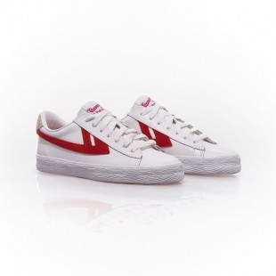Warrior Dime Leather|White/Red