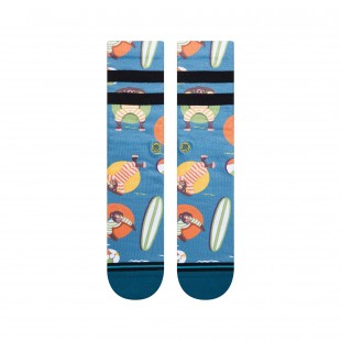 Stance Monkey Chillin Teal