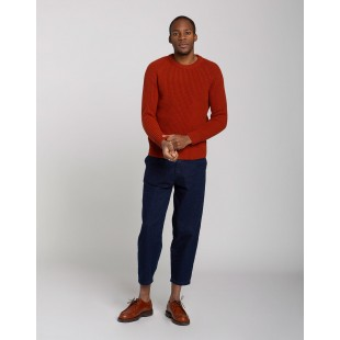Olow Tabar Knitwear   Brick