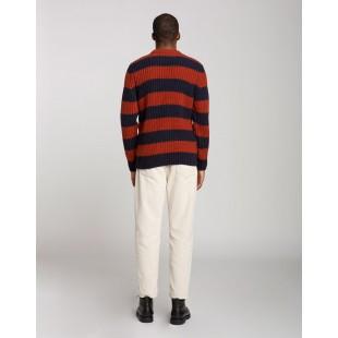 Olow Doelan Knitwear   Brick