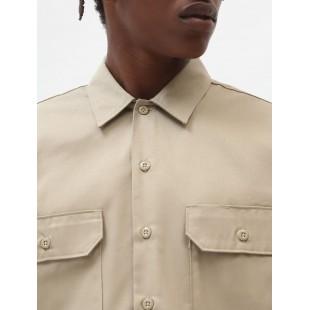 Dickies L/S Work Shirt | Khaki
