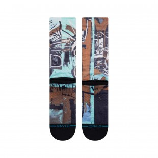 Stance 2 Heads On Gold  Black