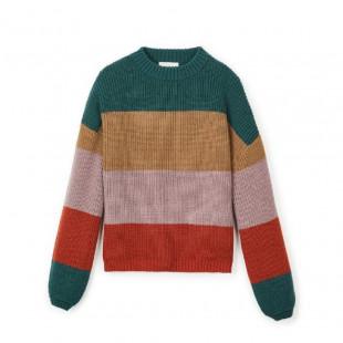 Brixton Madero Sweater|Emerald