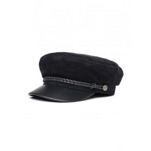 Brixton Fiddler Cap|Black